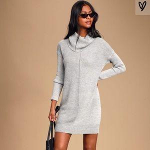 Lulu's Tea Ready tunic sweater dress